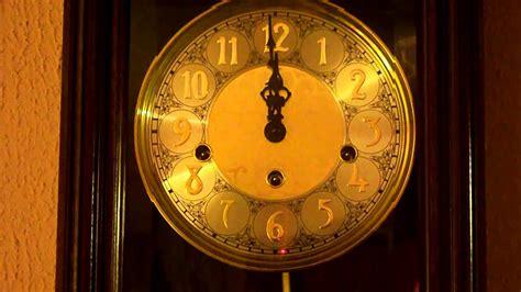 chime clock strikes  midnight  doovi
