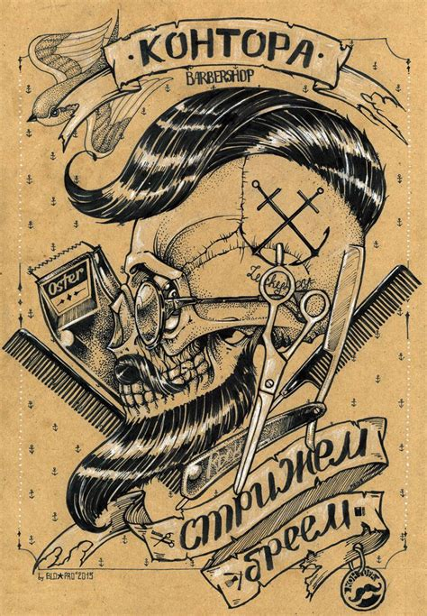 tattoo posters best 25 barber ideas on