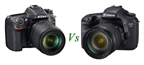 canon or nikon nikon d7100 vs canon eos 7d specs comparison