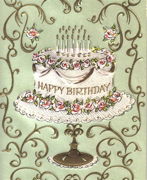 Images Vintage Birthday Cards Vintage Birthday Quotes Quotesgram