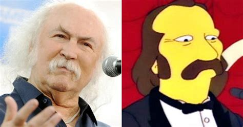 david crosby simpsons the simpsons 20th anniversary special the faces behind