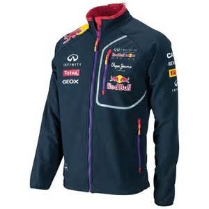 infiniti bull racing f1 soft shell jacket mens 2014
