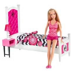 barbie bedroom set barbie doll and bedroom furniture set target