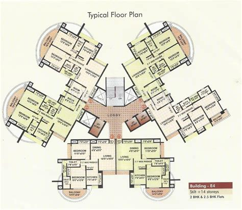 towers floor plans rutu towers in thane west mumbai price location map