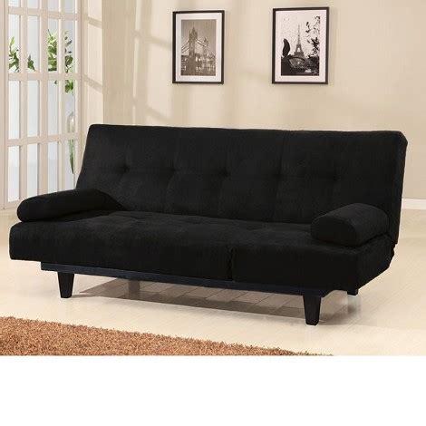 black microfiber sofa dreamfurniture com 05855 cybil black microfiber