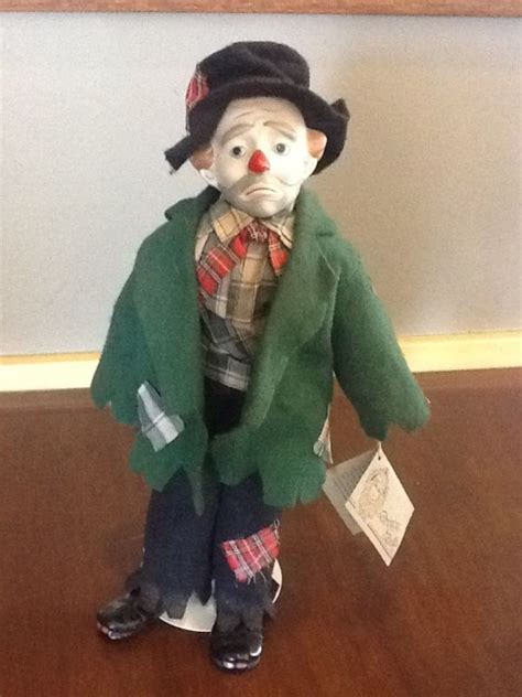 porcelain doll clown hobo clown doll shop collectibles daily
