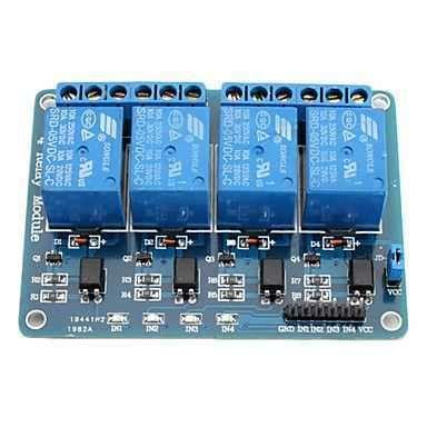 Lu Tl Dc By Skyled 4 way 5 v relay module 4 l 252 5 v r 246 le kart箟 sat箟n al