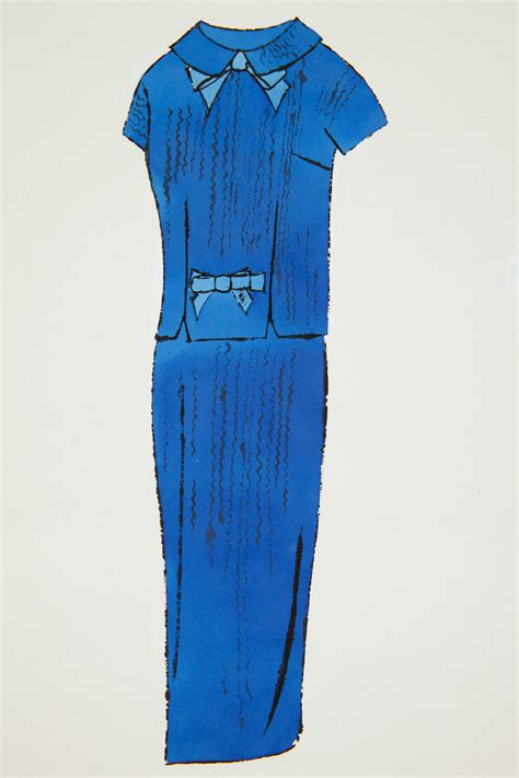 blue skirt suit christie s andy warhol christie s fashion