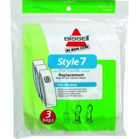 Bissell Vaccum Bags bissell 32120 style 7 vacuum bag