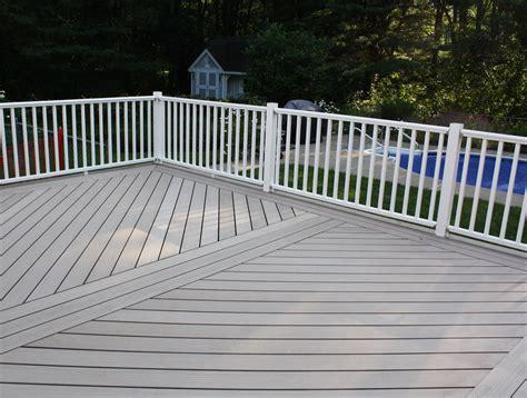 composite deck construction composite deck construction in albany razzano homes