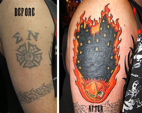 up in flames tattoo up in flames pictures to pin on tattooskid