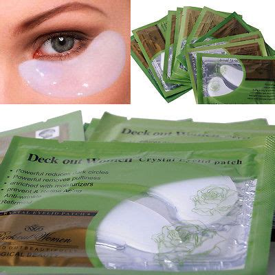 Collagen Circle Health 10 pairs anti wrinkle circle gel collagen eye patches pad mask bag in masks from