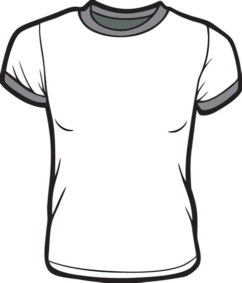 Drawing T Shirt Designs by Printable T Shirt Template Cliparts Co