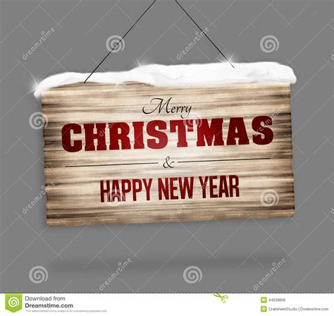 new year signs images wood sign merry and happy new year stock