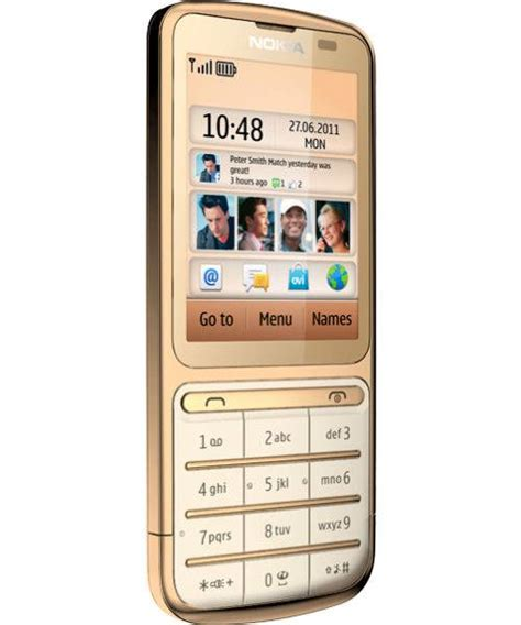 Smile List Chrome Nokia 3 Gold nokia c3 01 gold edition mobile phone price in india specifications