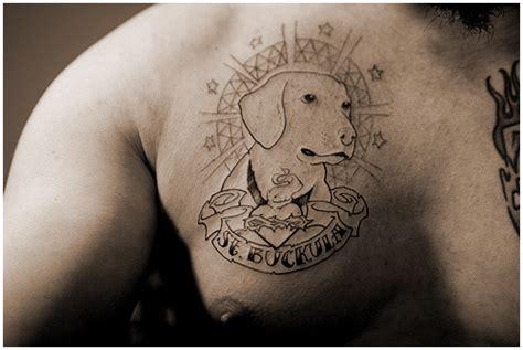 dog outline tattoo images designs