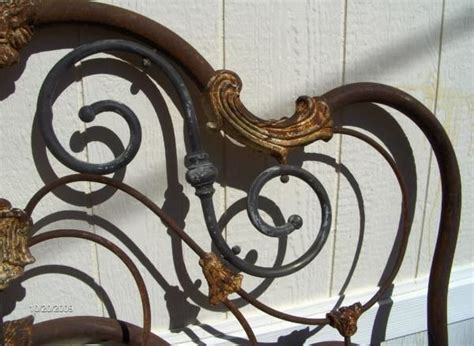 antique iron headboard iron bed frames