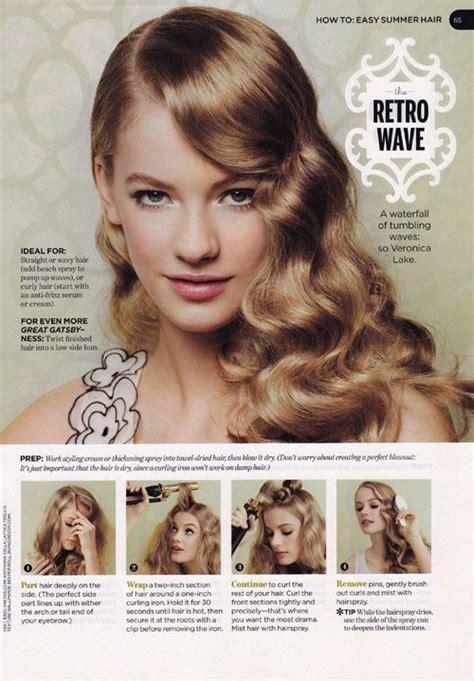 wavy lob haircut tutorial 20 stylish retro wavy hairstyle tutorials and hair looks
