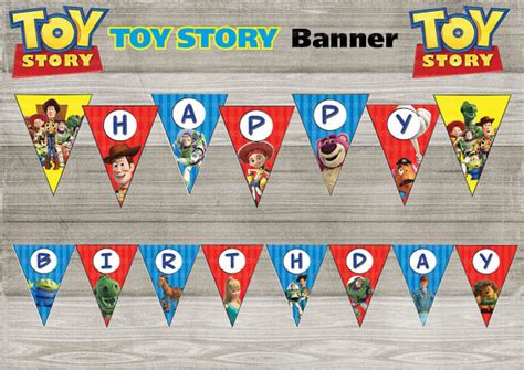 free printable birthday banner toy story instand dl toy story happy birthday banner printable