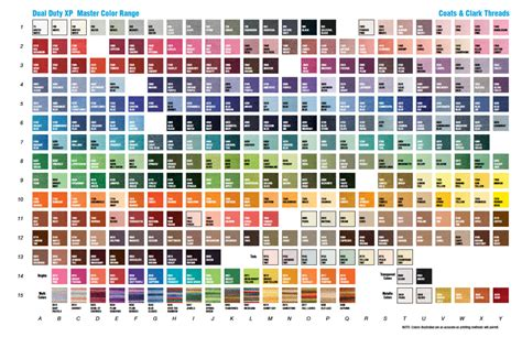 coats and clark thread color chart coats and clark thread color chart organizing your