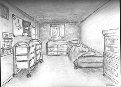 perspective of bedroom bedroom one point perspective by kakarot12 on deviantart
