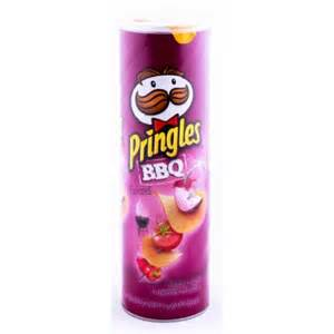 Home grocery pringles bbq 169gm