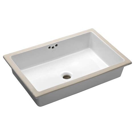bathroom sink undermount kohler ladena 23 1 4 quot undermount bathroom sink in white