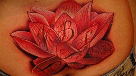 red lotus flower tattoo lotus flower tattoos products