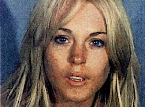 Lindsay Lohans Busted For Drugs by Mugshots