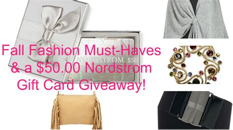 Where Can I Use My Nordstrom Gift Card - fall fashion must haves and a 50 00 nordstrom gift card giveaway beauty and