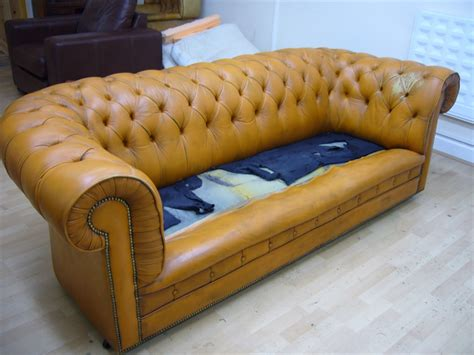 sofa surgeon replacement chesterfield cushions the leather surgeons