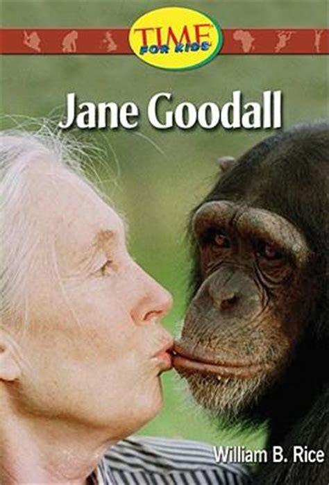 Jane Goodall Biography In Spanish | jane goodall william b rice 9780743900621