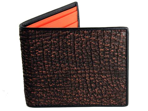 tough shark skin mens wallet real mens wallets