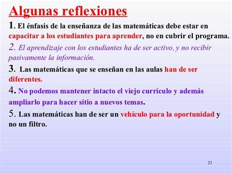 imagenes de reflexion matematicas competencias curriculures matematicas secundaria
