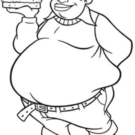 fat albert christmas free coloring pages