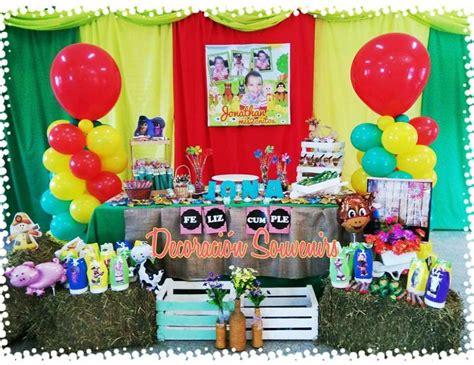 decoracion la granja de zenon granja de zenon birthday quot jona s farm birthday party