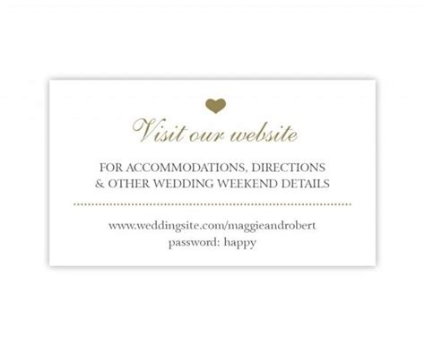 registry card template word wedding website cards simple wedding enclosure cards in