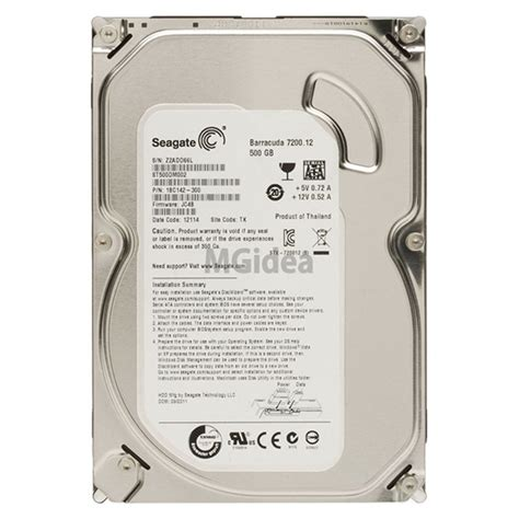 Harddisk Barracuda 500gb disk hdd barracuda 500 gb 3 5 quot sata seagate modello