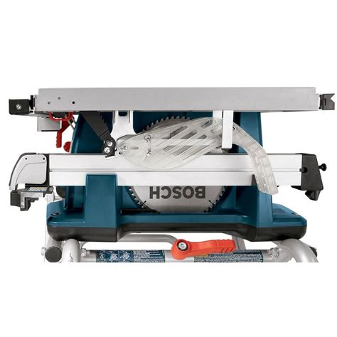 bosch portable table saw bosch 15 amp corded 10 in worksite table saw with gravity