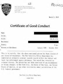 conduct certificate template documents legalized apoling solutions nyc