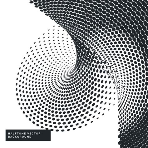 black and white vector wallpaper black and white background with halftone dots vector