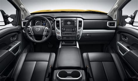 nissan titan interior 2016 all 2016 nissan titan xd powers up with v8