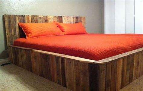 Ranjang Unik ide unik ranjang tidur dari kayu palet catkayu net