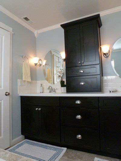 dark blue bathroom vanity cabinet black and blue and beautiful bathroom remodel