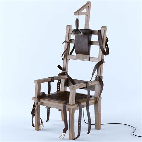 Elektric Chair by Electric Chair 3d Model