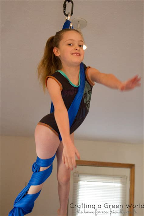 Gymnastics Crafts For Your Room - how to make a leotard from an old t shirt