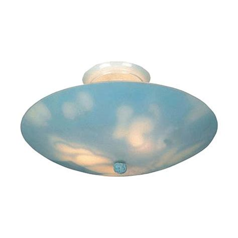 17 quot kidshine semi flush ceiling light clouds 6789541 hsn