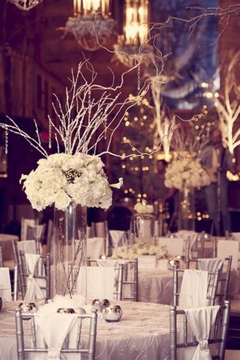 winter wedding table decor ideas wedding colours