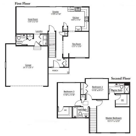 floor plans cardinal pointe of maplewood cardinal model in the marquis pointe subdivision in