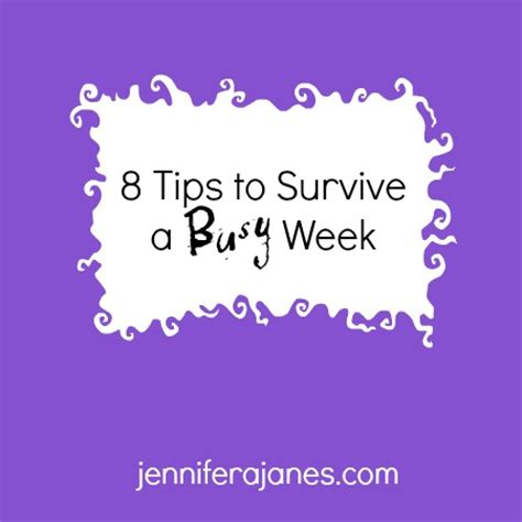 8 Tips For Surviving A Bridezilla by 8 Tips To Survive A Busy Week A Janes